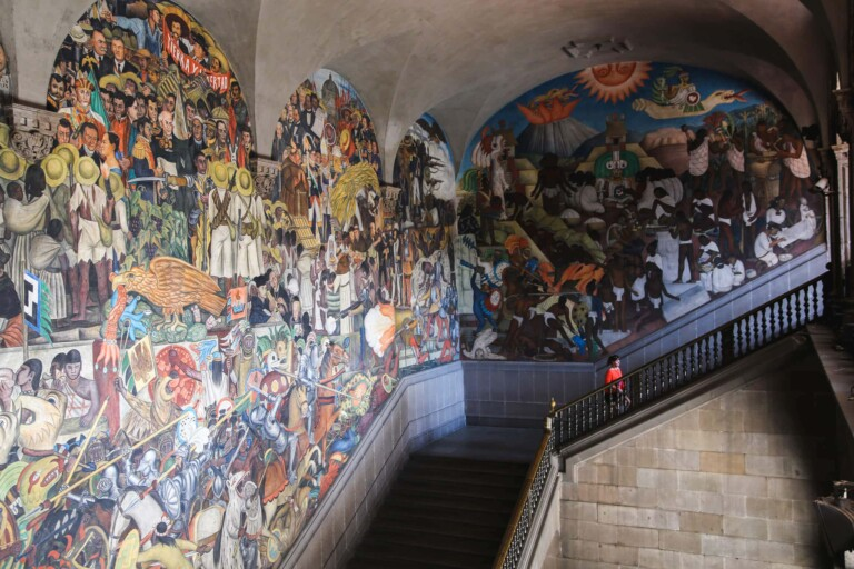 5 Places to see Diego Rivera's Murals in Mexico City